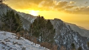 Malam Jabba Sunset, Swat Valley, Pakistan