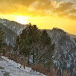 Malam Jabba Sunset 1 Swat Valley Pakistan