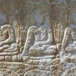 Manthal Rock Buddhist inscriptions Skardu Mix view