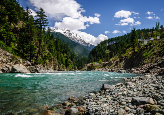 River Swat Pakistan