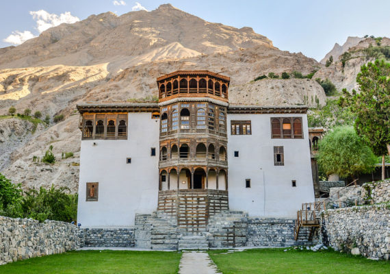 1200px View of main entrance of Khaplu Palace