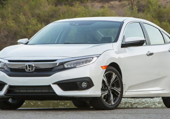 Honda Civic 2016 front