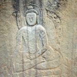 16 Buddhist Rock Carving Of Buddha Close Up Near Skardu