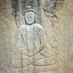 16 Buddhist Rock Carving Of Buddha Close Up Near Skardu