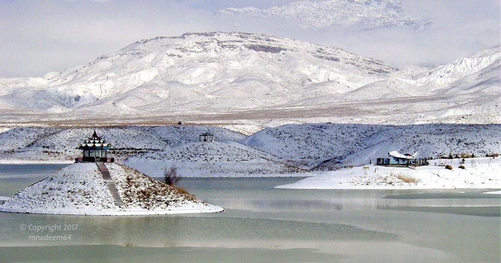 hanna lake snow quetta pakistan