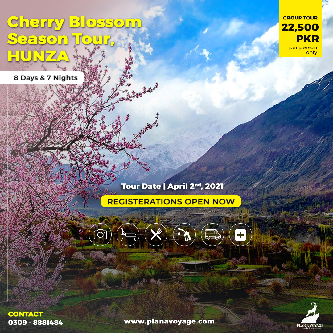 Cherry Blossom Season tour HUNZA 2021