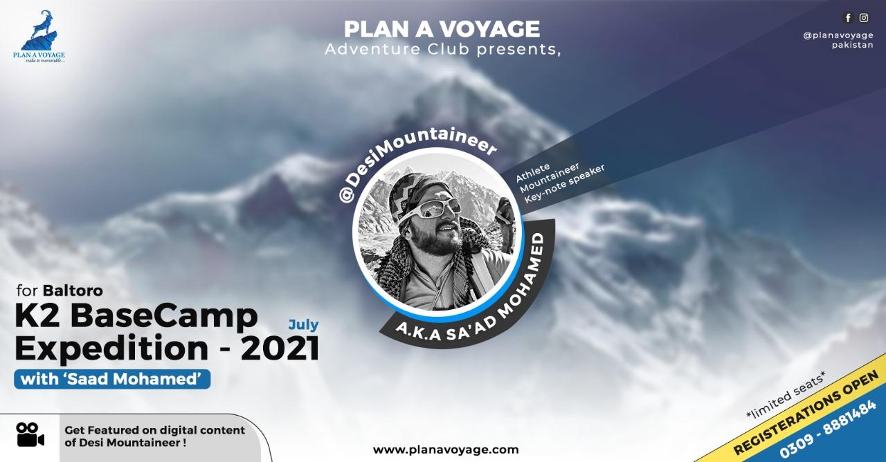 K2 Basecamp Expedition with Plan A Voyage & Saad Mohamed